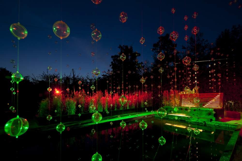 Festival des Jardins à Chaumont sur Loire  pour Philips Lighting