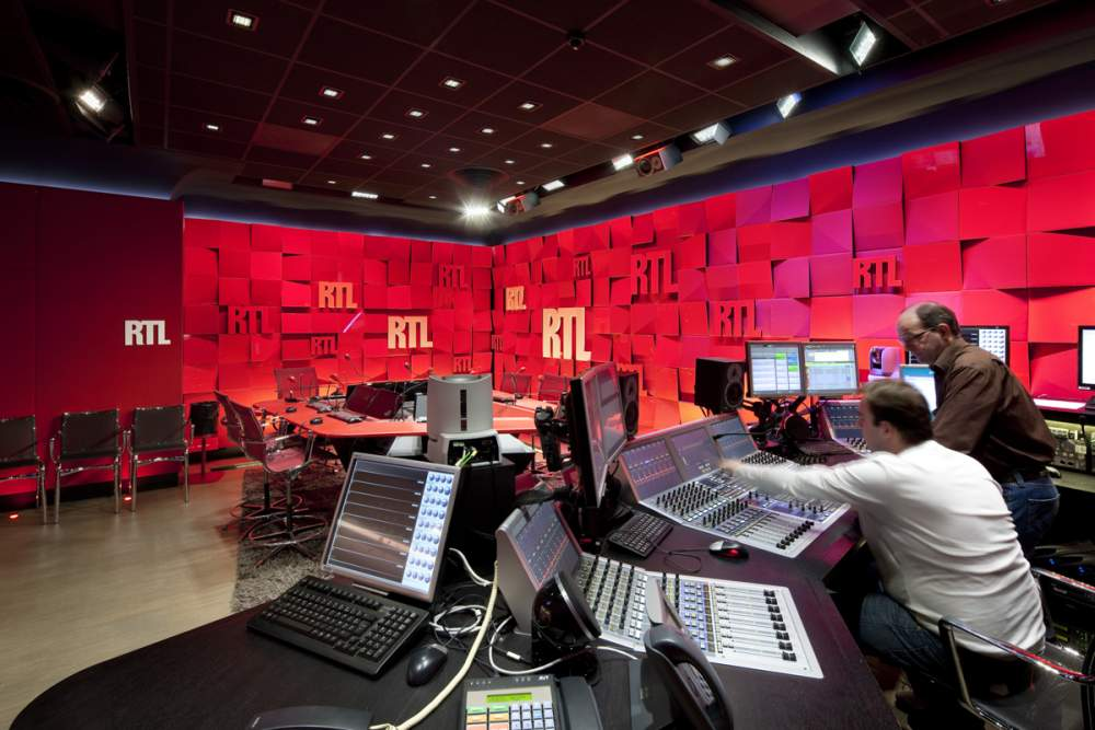 Studios RTL pour Philips Lighting