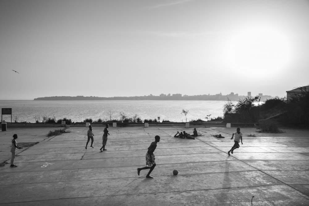 Dakar, depuis l'Île de Gorée