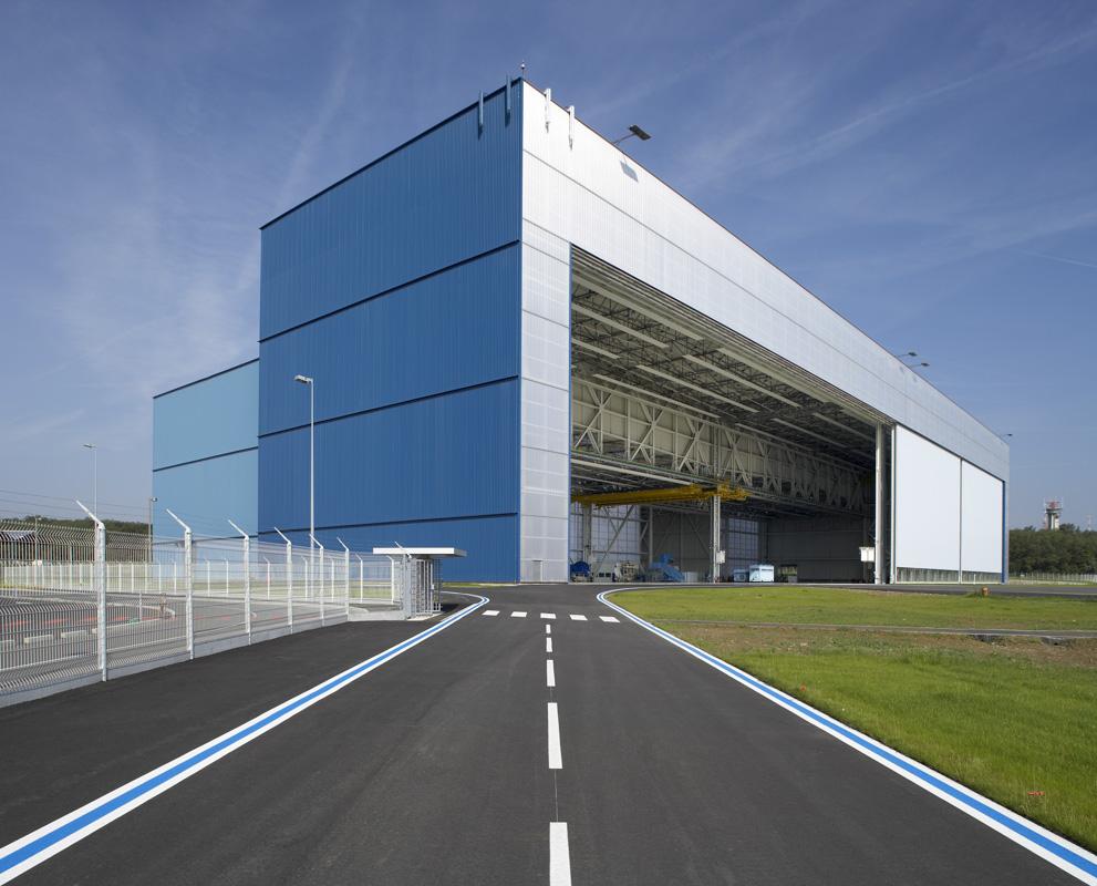 Bâtiment Airbus C91, Colomiers, France pour Spie-Batignolles