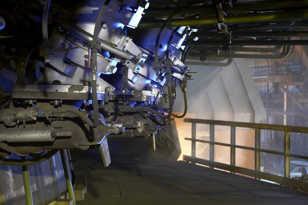 Bruleurs hauts fourneaux chez Arcelor à Dunkerque, France pour Spie