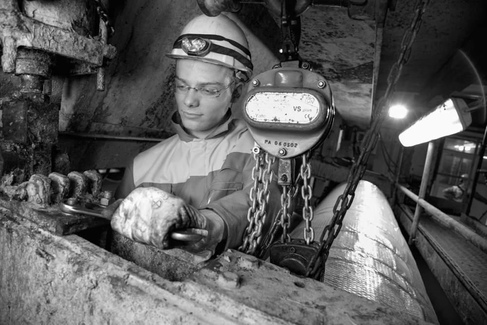 Travaux de maintenance dans l'industrie papetière à Blenderques (59) pour Opteor
