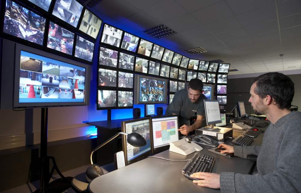 Maintenance sur video surveillance pour Spie