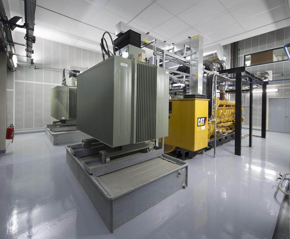 Groupes electrogènes de l'hôpital de Rangueil, Toulouse pour Cegelec