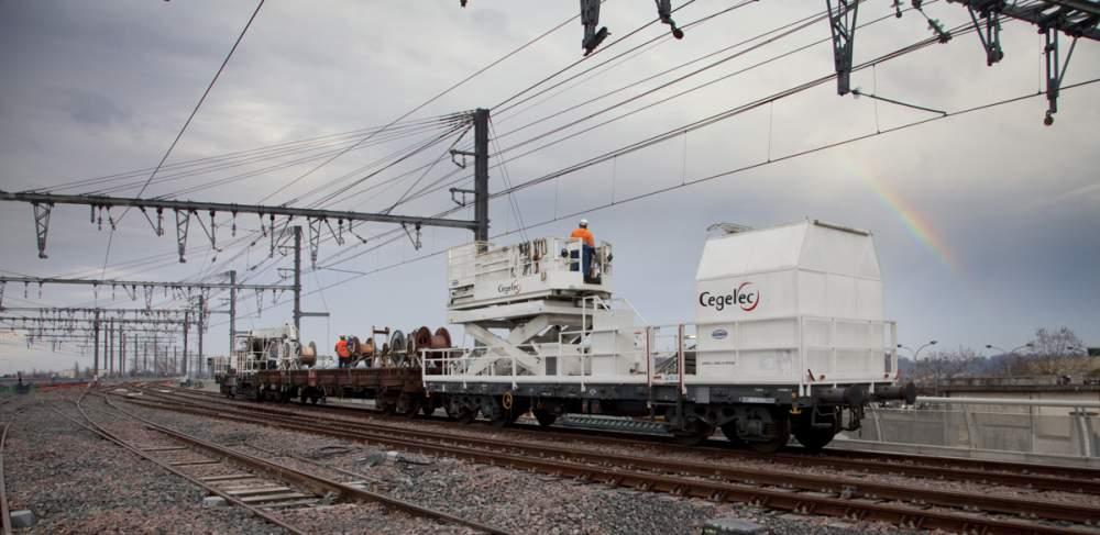 Chantier Ferroviaire à Bordeaux (Gare Saint Jean) pour Cegelec