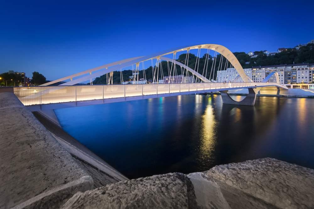 Pont Schuman, Lyon