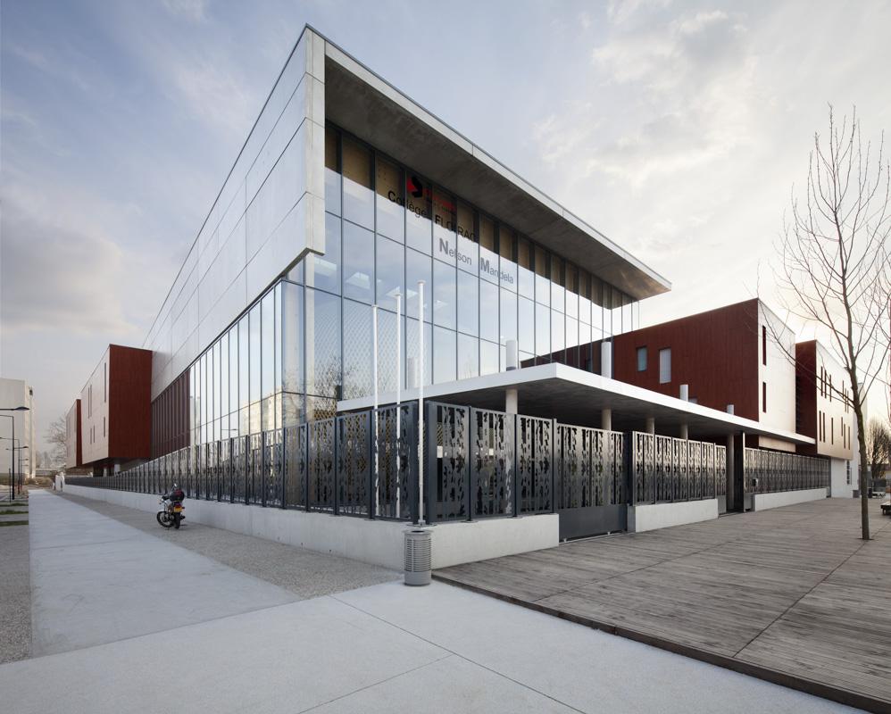 Collège Nelson Mandela à Floirac (33) pour architecte François Guibert
