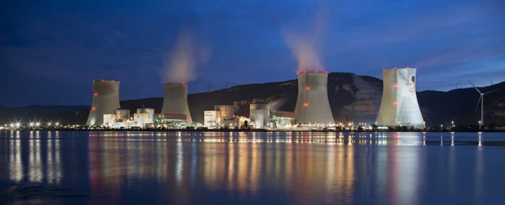Centrale nucléaire de Cruas Meysse pour Omexom