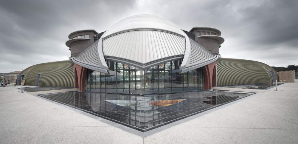 Centre Nautique d'Agde pour Spie - Architecte: Cabinet Luc DEMOLOMBE