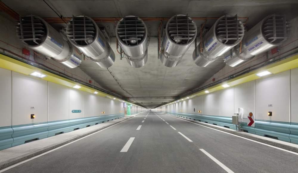 Tunnel de La Joliette à Marseille pour Spie