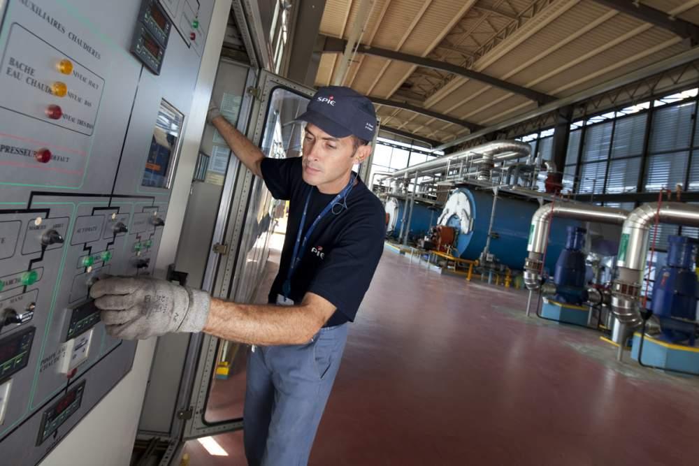 Travaux de maintenance au CNES pour SPIE