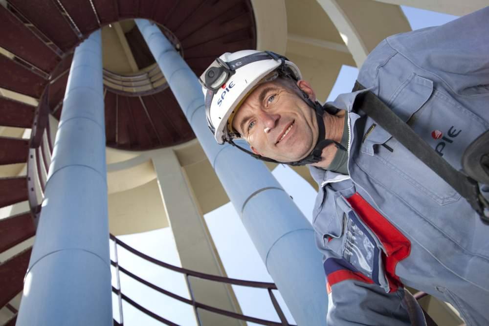 Maintenance sur château d'eau pour Spie à Montpellier