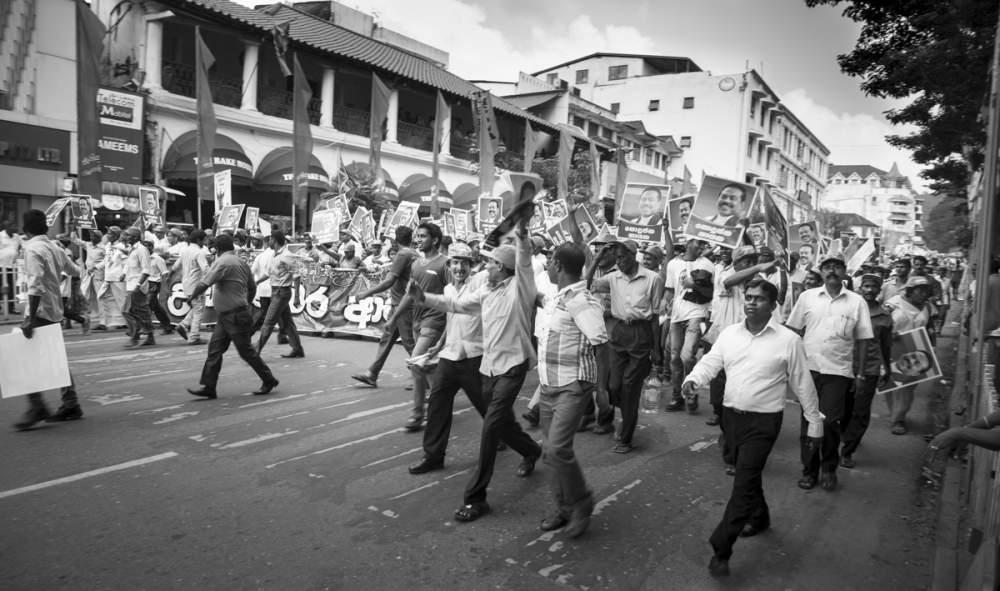 Campagne présidentielle 2015 à Kandy