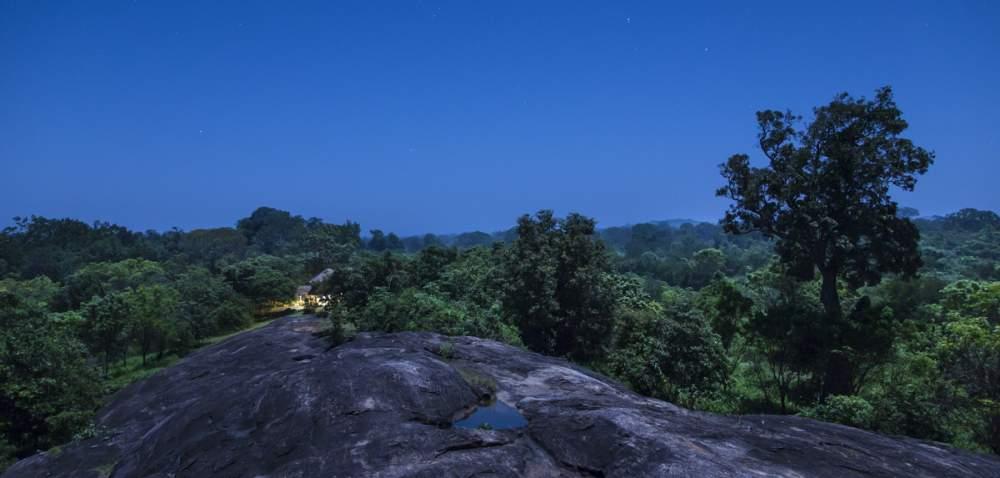 Une nuit en pleine jungle, dans la seule case à des kilomètres à la ronde, Hurulu Eco park, Habarana