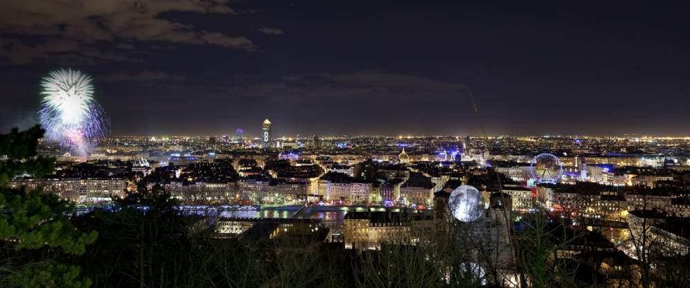 Fête des lumières à Lyon, décembre 2010