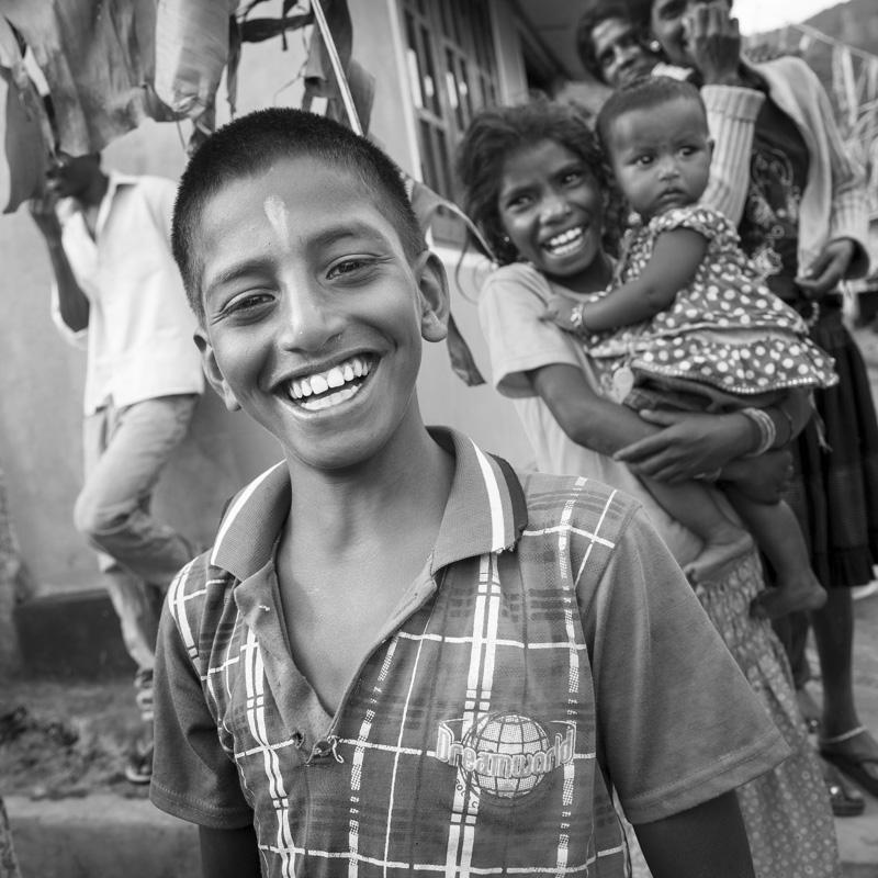Jour férié dans un village de cueilleuses de thé à Nuwara Eliya