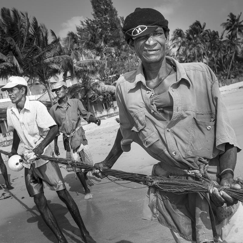 Pêcheurs à Trincomalee
