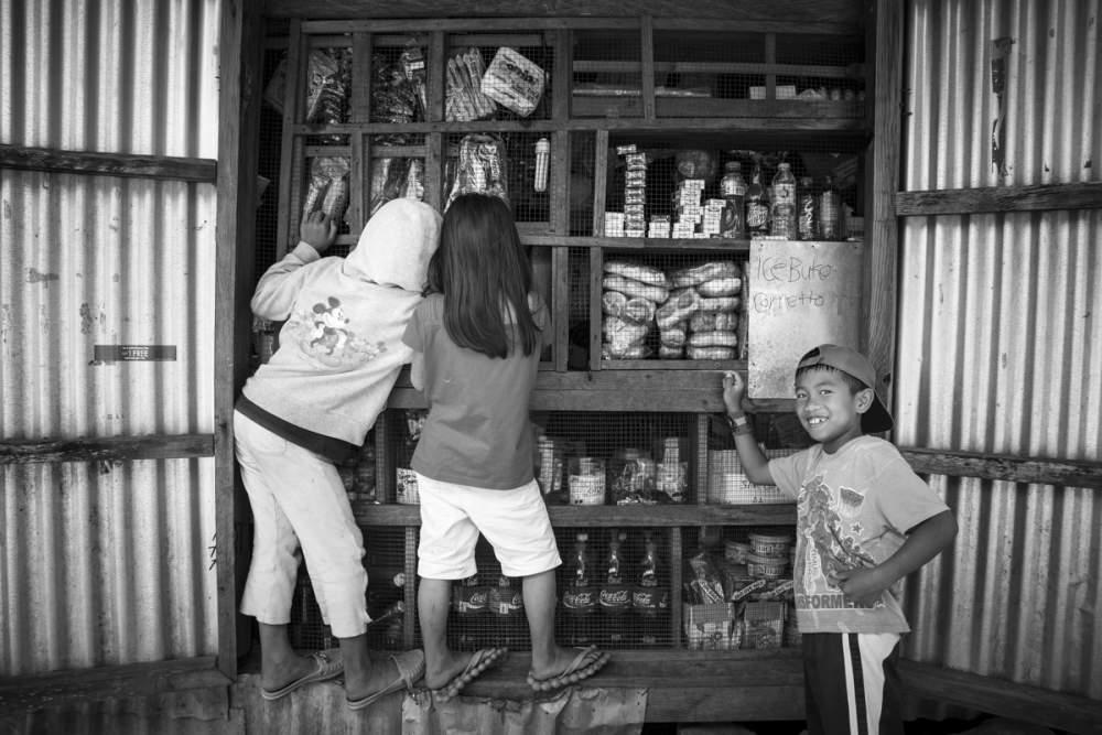 L'épicerie d'un village près de Sagada, île de Luzon