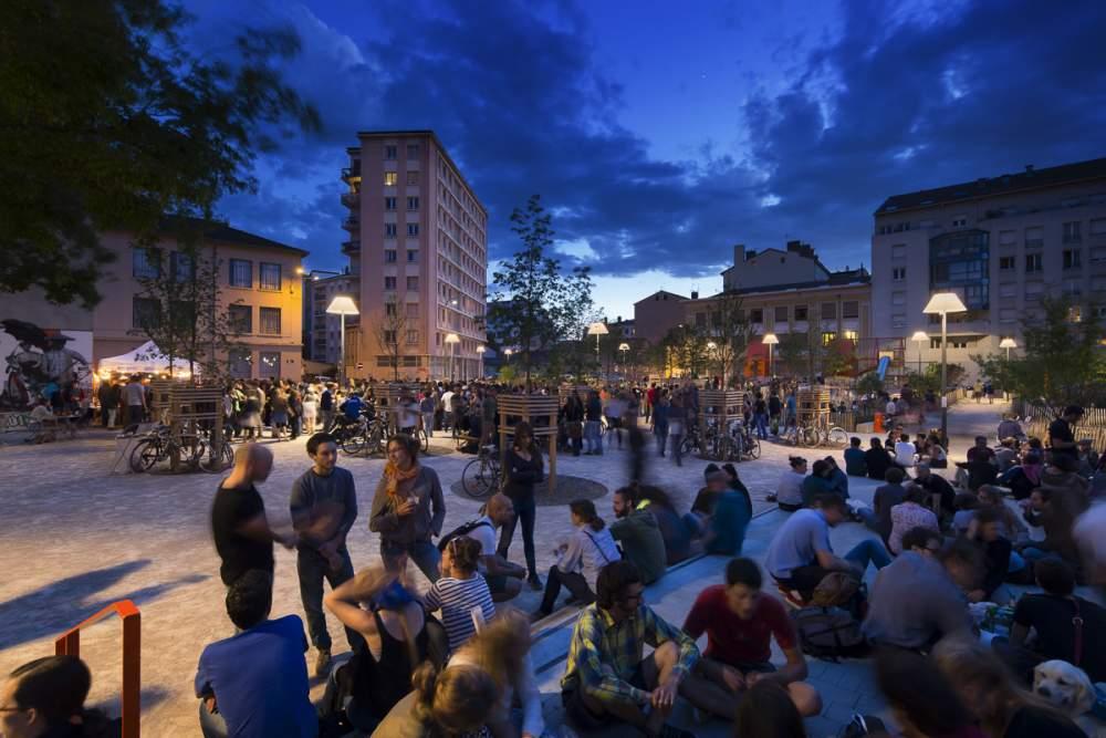 Place Mazagran, Lyon