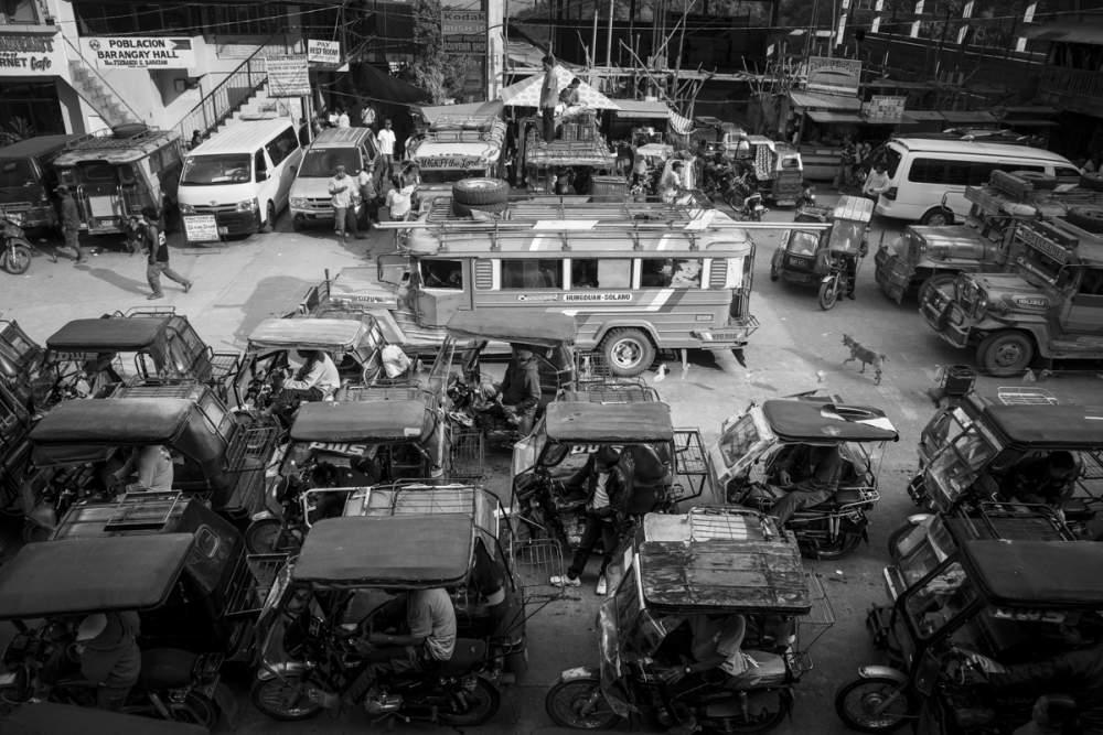 gare centrale de Banaue, île de Luzon