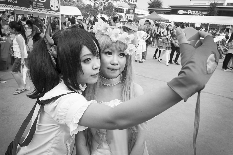 Le jour de la Japan Expo à Vientiane