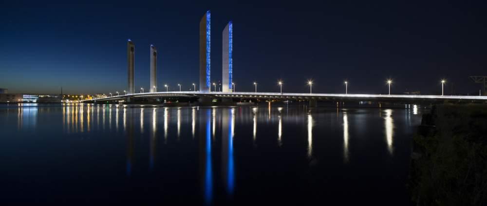 Pont Chaban Delmas à Bordeaux