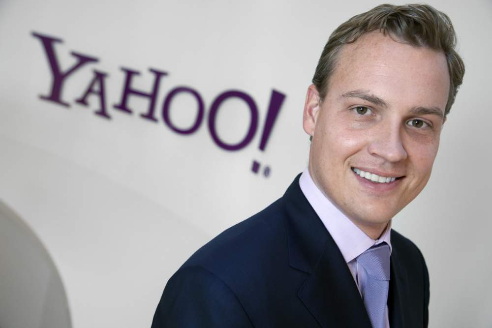 Rich RILEY, SVP Yahoo! Europe, ground opening in Rolle, Switzerland