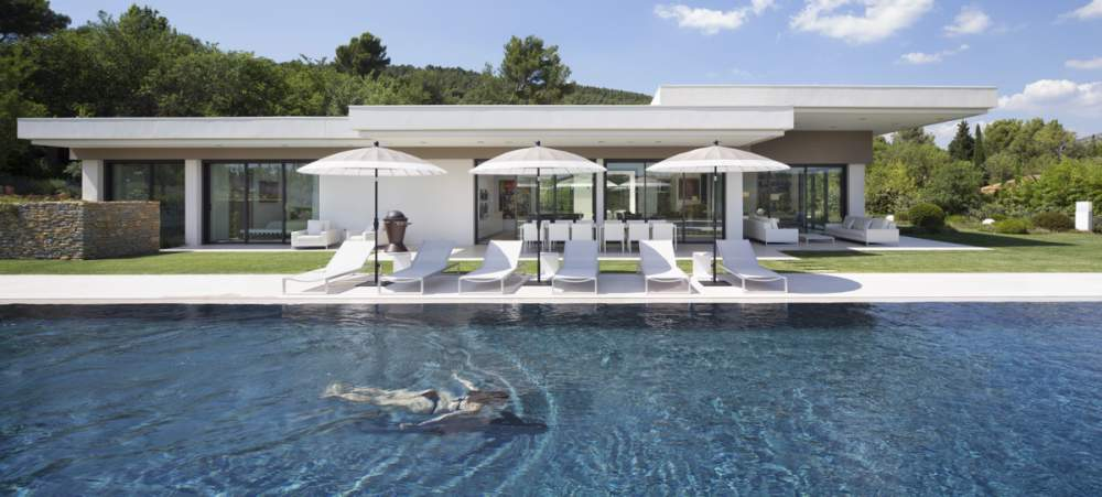 Villa à Aix en Provence pour Kawneer - Architecte : Henri Paret