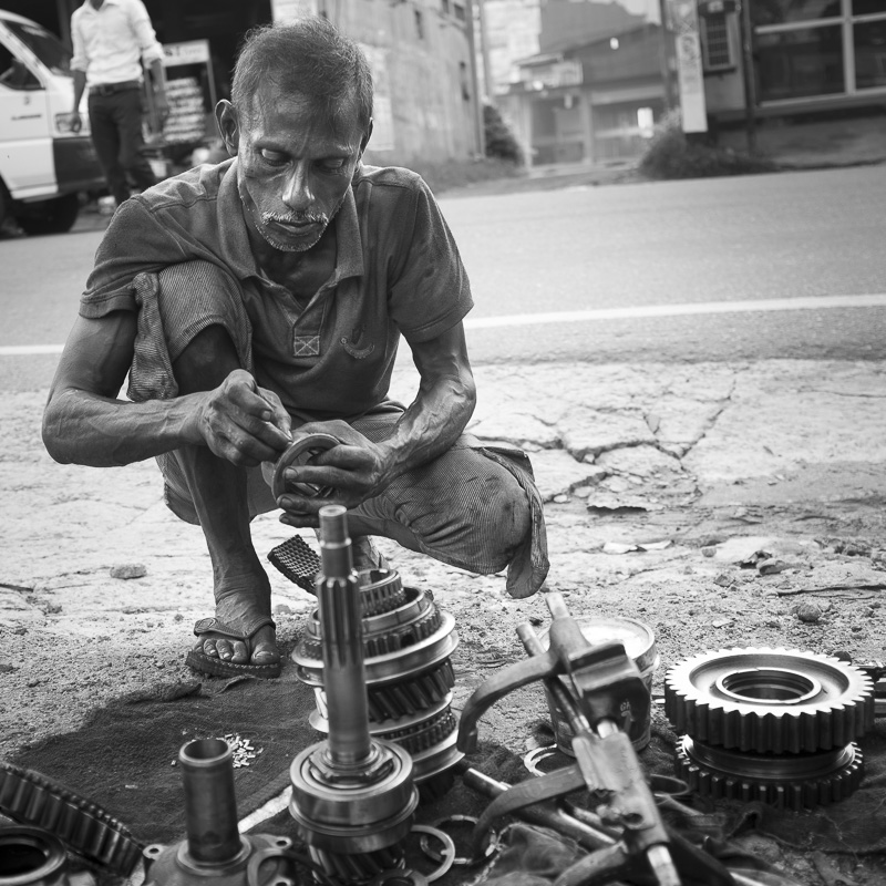 Mécanicien, Sri Lanka