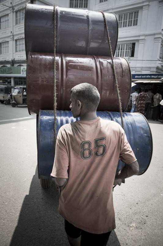 Livreur, Colombo, Sri Lanka