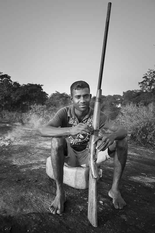 Accompagnateur de treck, Sri Lanka