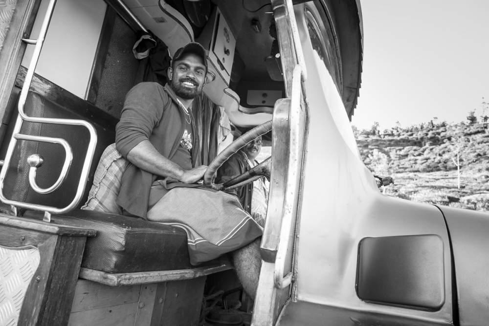 Chauffeur poids lourd, Sri Lanka