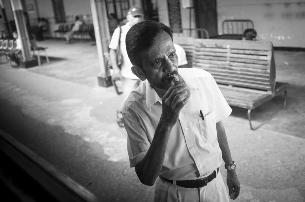 Chef de gare, Sri Lanka