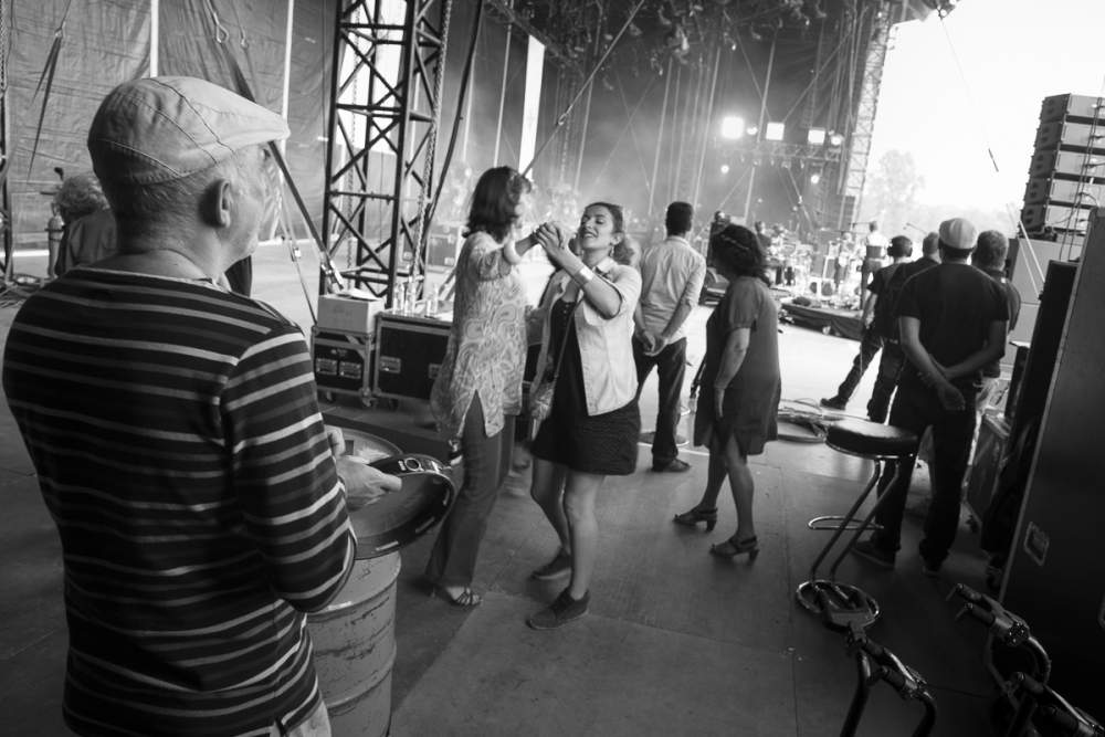 Ambiance côté backstage
