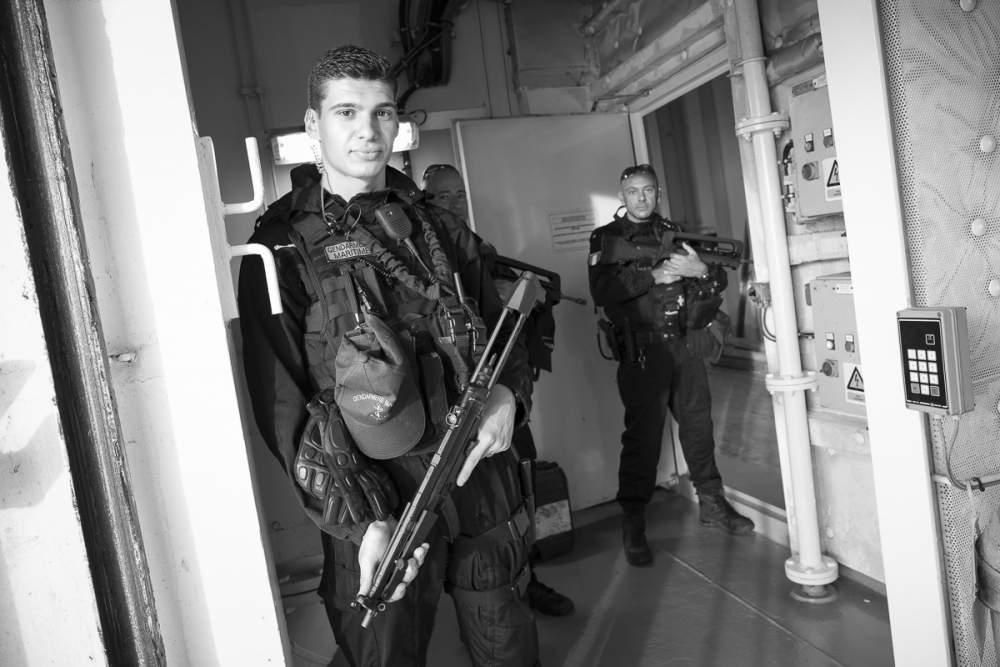 La gendarmerie maritime sécurise la traversée