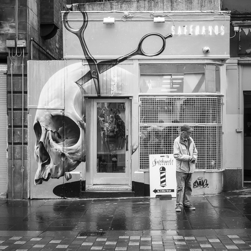Tatoo shop, Glasgow