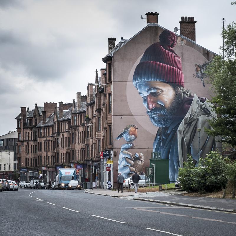 Streetart in Glasgow