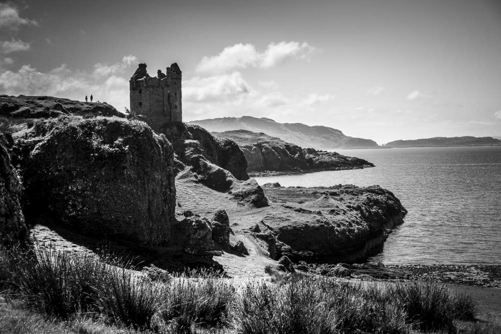Gylen Castle, Kerrera Island