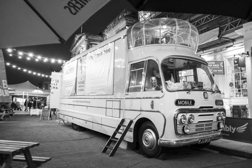 The last mobile cinema truck in the UK