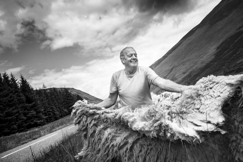Ian, sheep farmer in Moffat