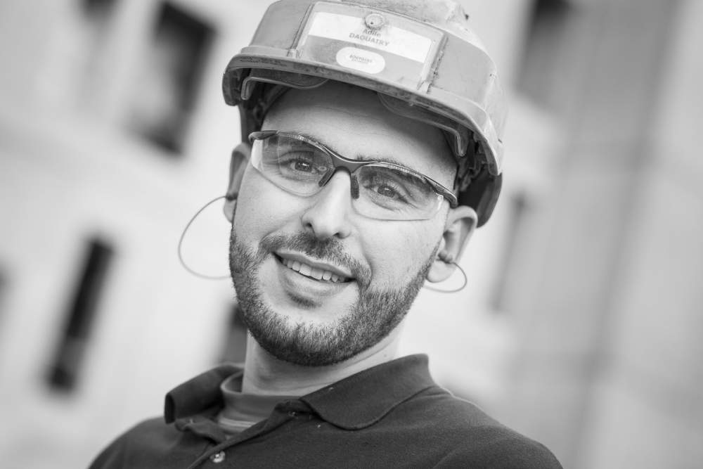 Portraits collaborateurs pour Bouygues Construction